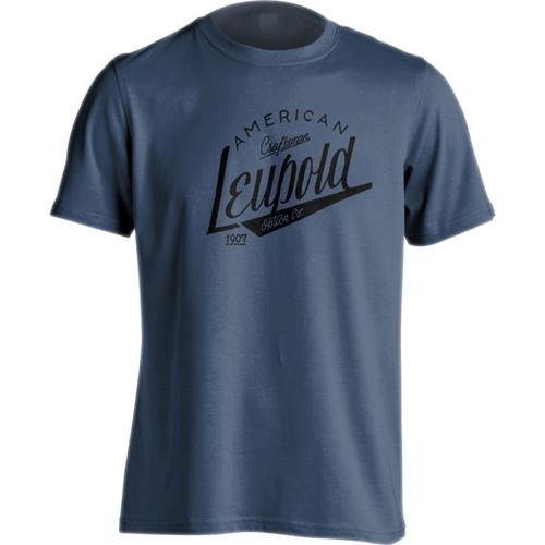 Leupold Men's American Craftsman T-Shirt (Blue, Large)