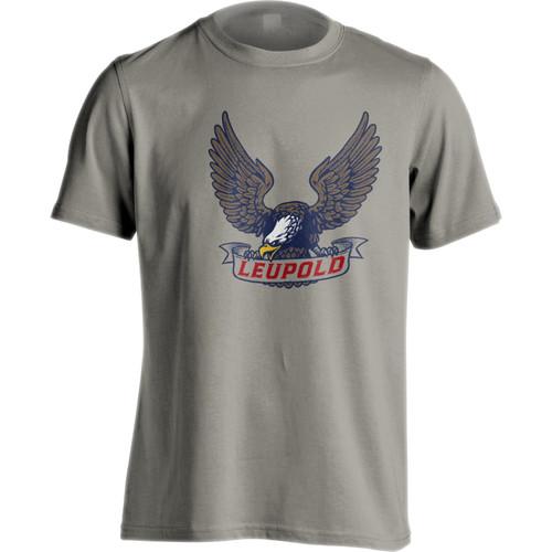 Leupold Men's American Eagle T-Shirt (Gray, Extra-Large)
