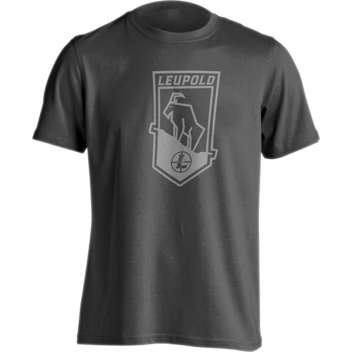 Leupold Men's MTN Goat T-Shirt (Charcoal, XXL)