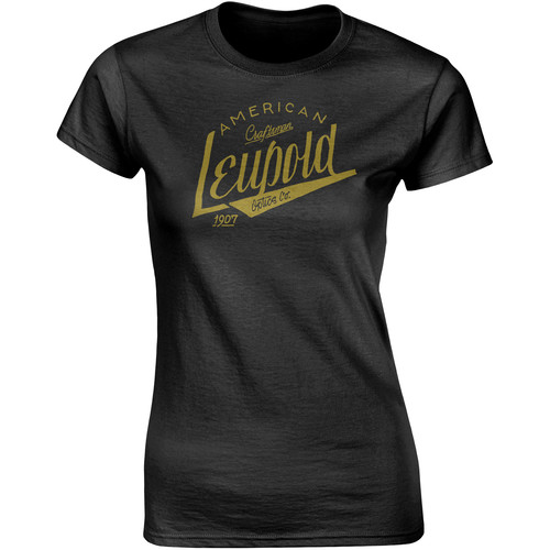 Leupold Women's American Craftsman T-Shirt (Black, Small)