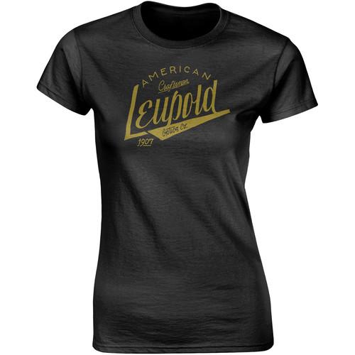 Leupold Women's American Craftsman T-Shirt (Black, Extra-Large)