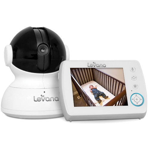 Levana Astra Digital Baby Video Monitor with PTZ Camera