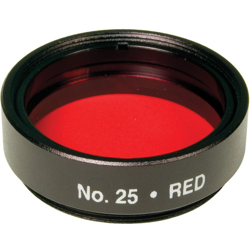 "Levenhuk 1.25"" Optical Filter (#25, Red)"