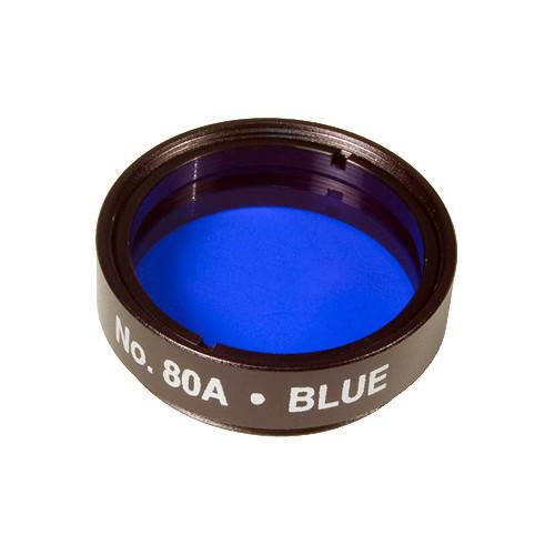 """Levenhuk 1.25"""" Optical Filter (#80A, Blue)"""