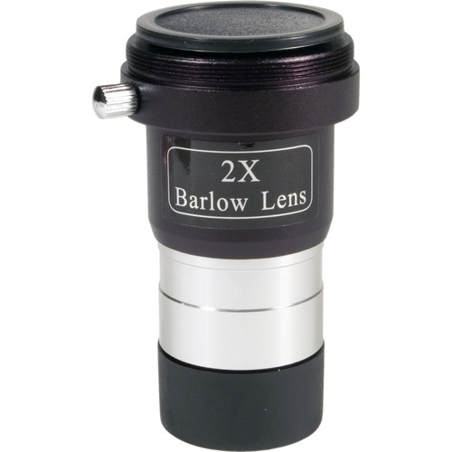 "Levenhuk 2x Barlow Lens with T-Ring Threads (1.25"")"