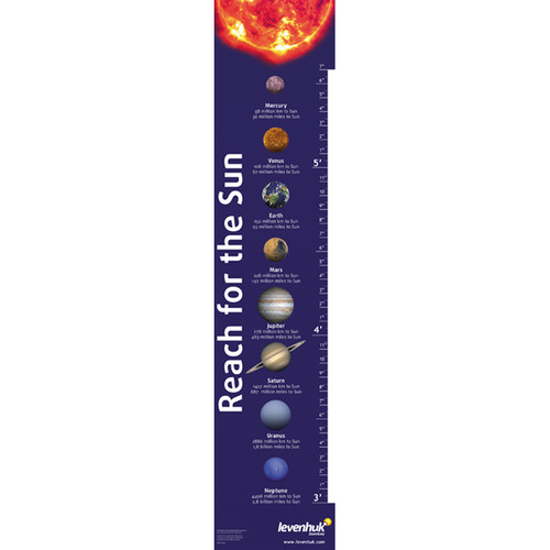 "Levenhuk ""Reach for the Sun"" Growth Chart"