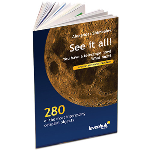 """Levenhuk """"See it all!"""" Astronomer's Handbook by A.A. Shimbalev"""