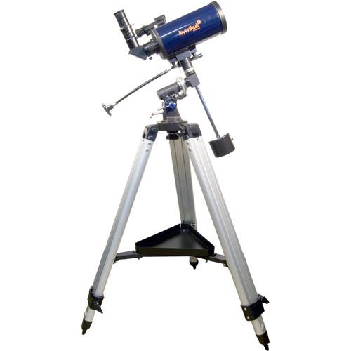 Levenhuk 90mm f/14 Strike 950 PRO Maksutov-Cassegrain EQ Telescope Kit