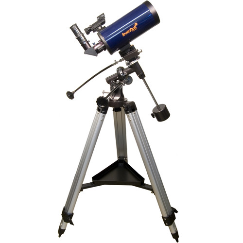 Levenhuk Strike 1000 PRO 102mm f/13 Maksutov-Cassegrain EQ Telescope Kit