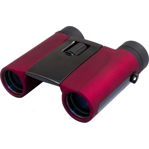 Levenhuk 8x25 Rainbow Binoculars (Red Berry)