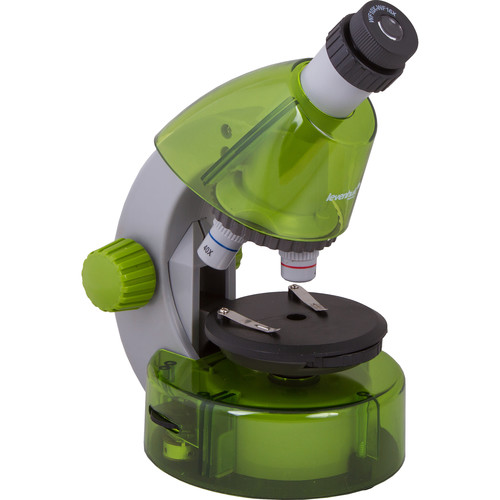 Levenhuk LabZZ M101 Microscope Kit (Cordless, Lime)