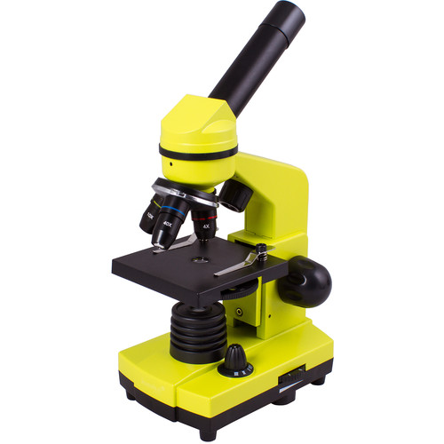 Levenhuk Rainbow 2L Microscope Kit (Lime)
