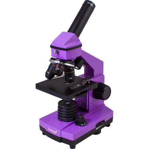 Levenhuk Rainbow 2L Plus Microscope Kit (Amethyst)