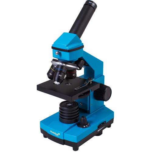 Levenhuk Rainbow 2L Plus Microscope Kit (Azure)
