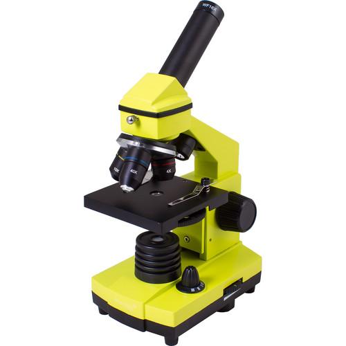 Levenhuk Rainbow 2L Plus Microscope Kit (Lime)