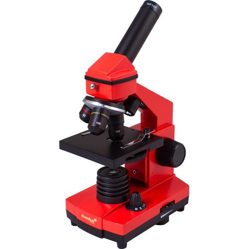 Levenhuk Rainbow 2L Plus Microscope Kit (Orange)