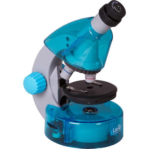 Levenhuk LabZZ M101 Microscope Kit (Cordless, Azure)
