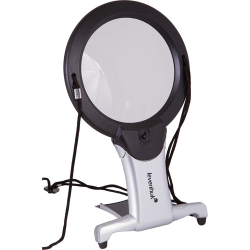 Levenhuk Zeno Vizor N2 Magnifier with Strap and Stand