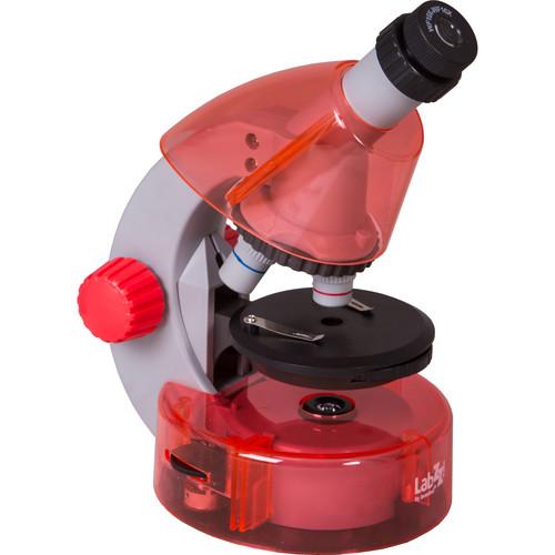 Levenhuk LabZZ M101 Microscope Kit (Cordless, Orange)