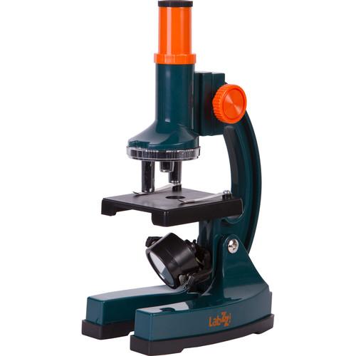 Levenhuk LabZZ M2 Microscope Kit (Cordless, Blue)