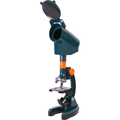Levenhuk LabZZ M3 Microscope Kit (Cordless, Blue)