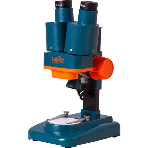Levenhuk LabZZ M4 Stereo Microscope (Blue-Orange)
