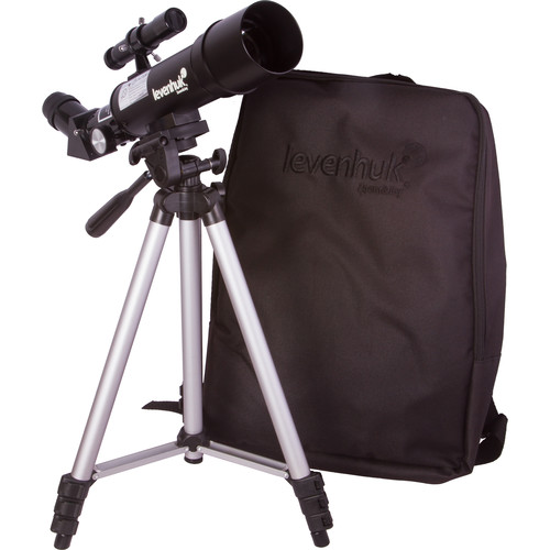 Levenhuk Skyline Travel 50 50mm f/7 Alt-Az Refractor Telescope