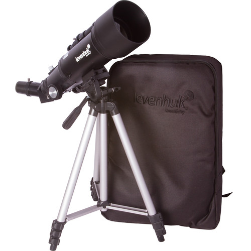 Levenhuk Skyline Travel 70 70mm f/6 Alt-Az Refractor Telescope