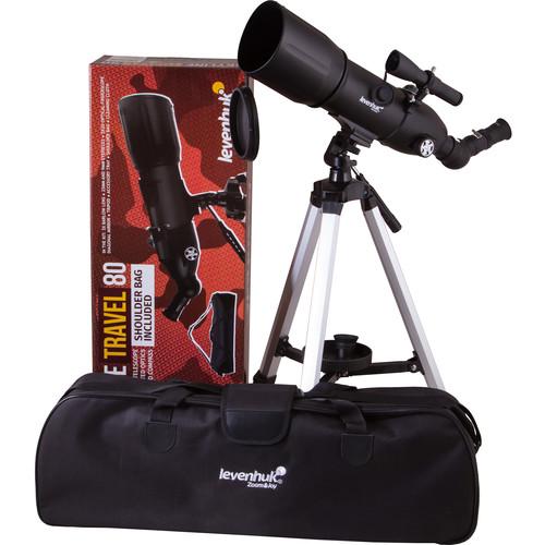 Levenhuk Skyline Travel 80 80mm f/5 Refractor Telescope
