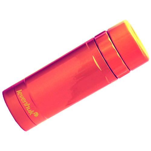 Levenhuk 8x25 Rainbow Monocular (Red Berry)