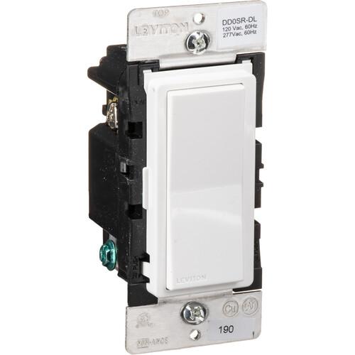 Leviton DD0SR-DLZ Decora Digital/Smart Dual Voltage Matching Switch Remote