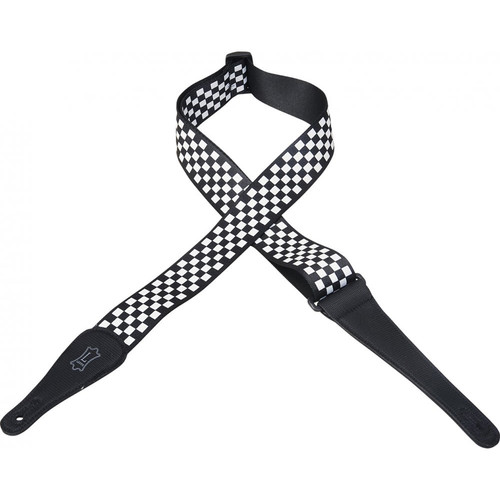 Levy's MP-28 Polyester Guitar Strap (Checkerboard Pattern)