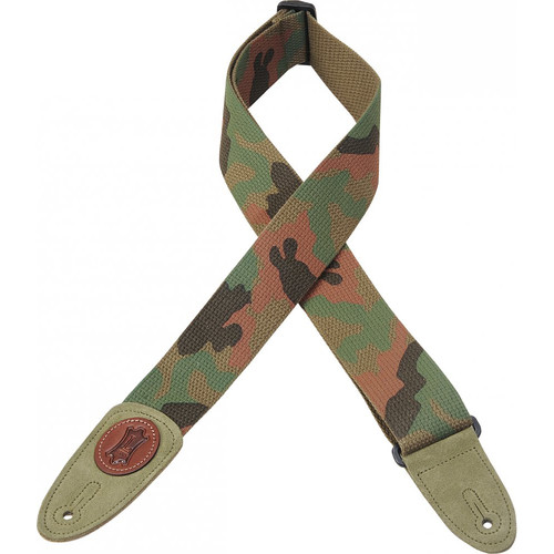 Levy's Signature Series Cotton Guitar Strap (Camo)