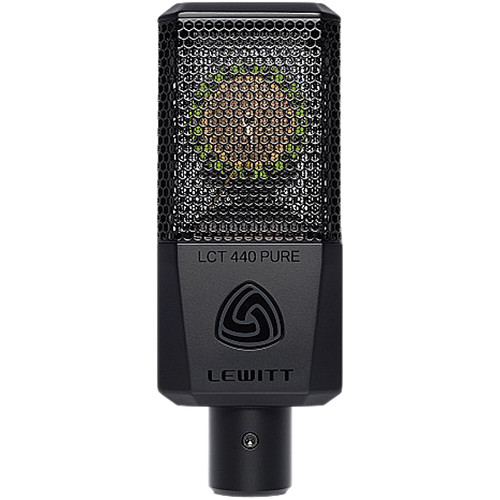 Lewitt LCT-440-Pure Single-Pattern, Large-Diaphragm Condenser Microphone