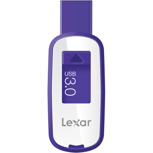 Lexar 64GB JumpDrive S23 USB 3.0 Flash Drive (Purple)