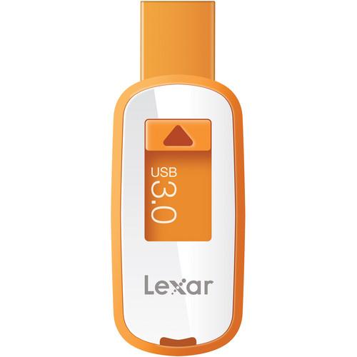 Lexar 8GB JumpDrive S23 USB 3.0 Flash Drive (Orange)
