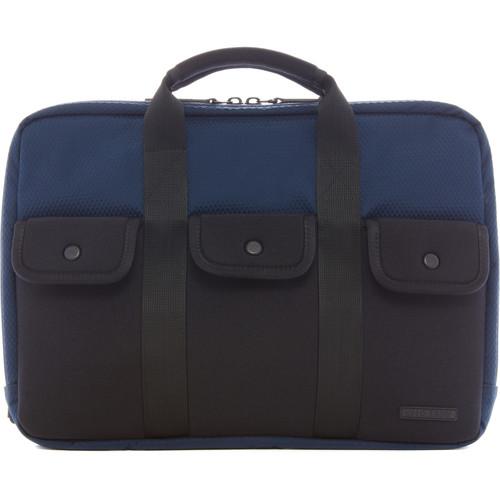 LEXDRAY Amsterdam Brief Bag (Dark Navy / Heather Gray)