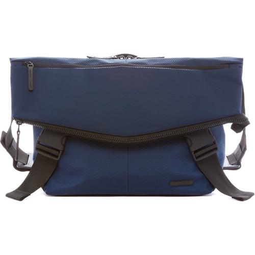 LEXDRAY Mumbai Messenger Bag (Dark Navy / Heather Gray)
