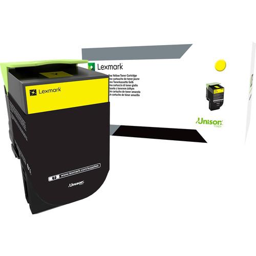 Lexmark CS/CX 317, 417 & 517 Yellow Return Program Toner Cartridge for Select Color Laser Printers