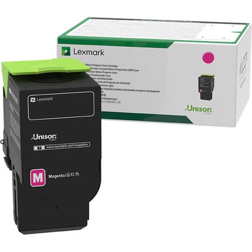 Lexmark 78C10M0 Magenta Return Program Toner Cartridge for Select Color Laser Printers