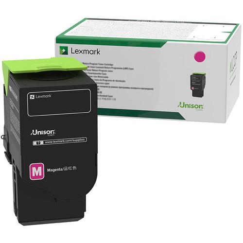 Lexmark 801SM Magenta Standard Yield Return Program Toner Cartridge for Select Color Laser Printers