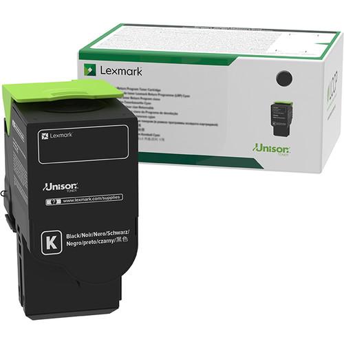 Lexmark C2310K0 Black Return Program Toner Cartridge for Select Color Laser Printers