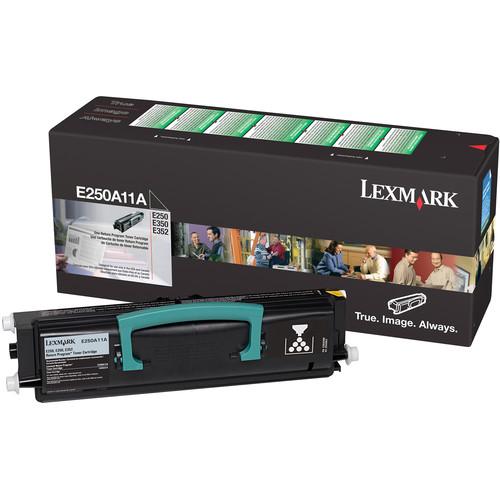 Lexmark E250, E350 & E352 Return Program Toner Cartridge for Select Monochrome Laser Printers