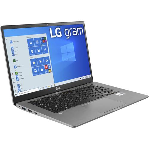 "LG 14"" gram 14 Laptop (Dark Silver)"