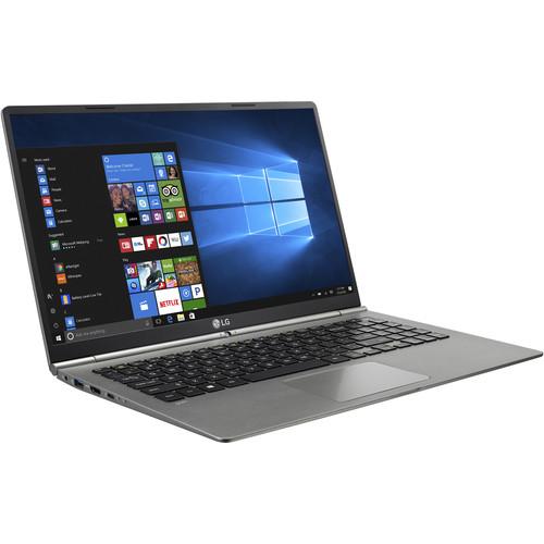 "LG 15.6"" gram 15.6 Multi-Touch Notebook (Dark Silver)"