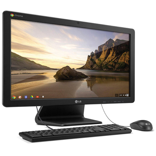 "LG Chromebase 21.5"" All-in-One Desktop Computer (Black)"