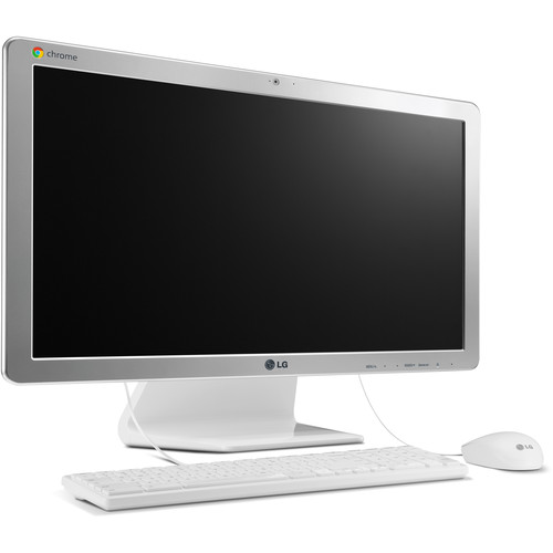"LG Chromebase 21.5"" All-In-One Desktop Computer (White)"