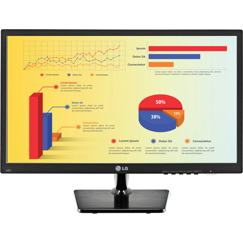 "LG 22MC37D-B 22"" (21.5"" Diagonal) LED Monitor"