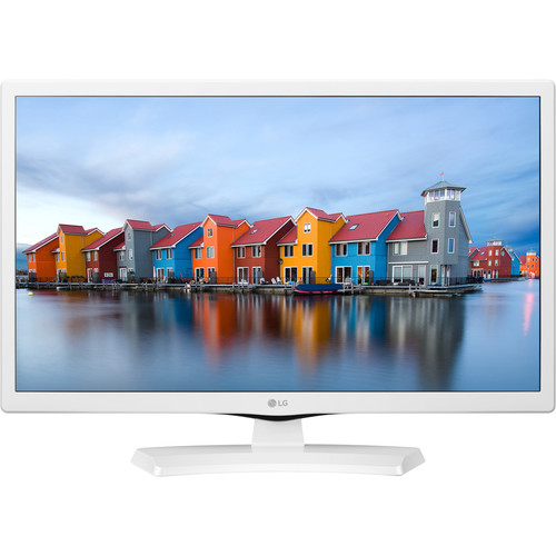 "LG LJ4540-Series 24""-Class HD LED TV (White)"