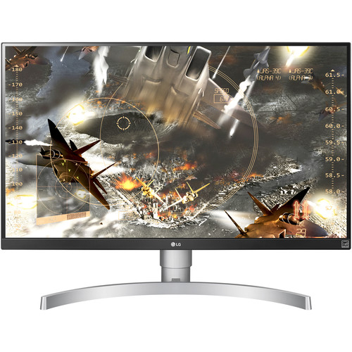 "LG 27UK650-W 27"" 16:9 4K HDR FreeSync IPS Monitor"